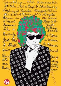 Bob Dylan (Yellow)