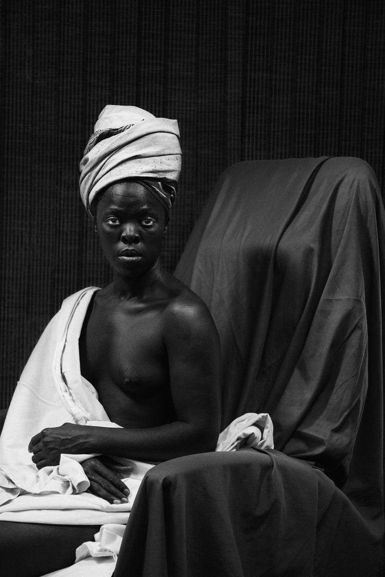 Zanele Muholi Black and White Photograph - MaID, Delaware