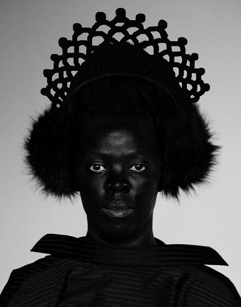<i>Siphe, Johannesburg</i>, 2018, by Zanele Muholi, offered by Yancey Richardson Gallery