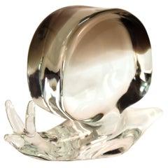 Zanetti Italian Mid-Century Modern Art Glass Snail