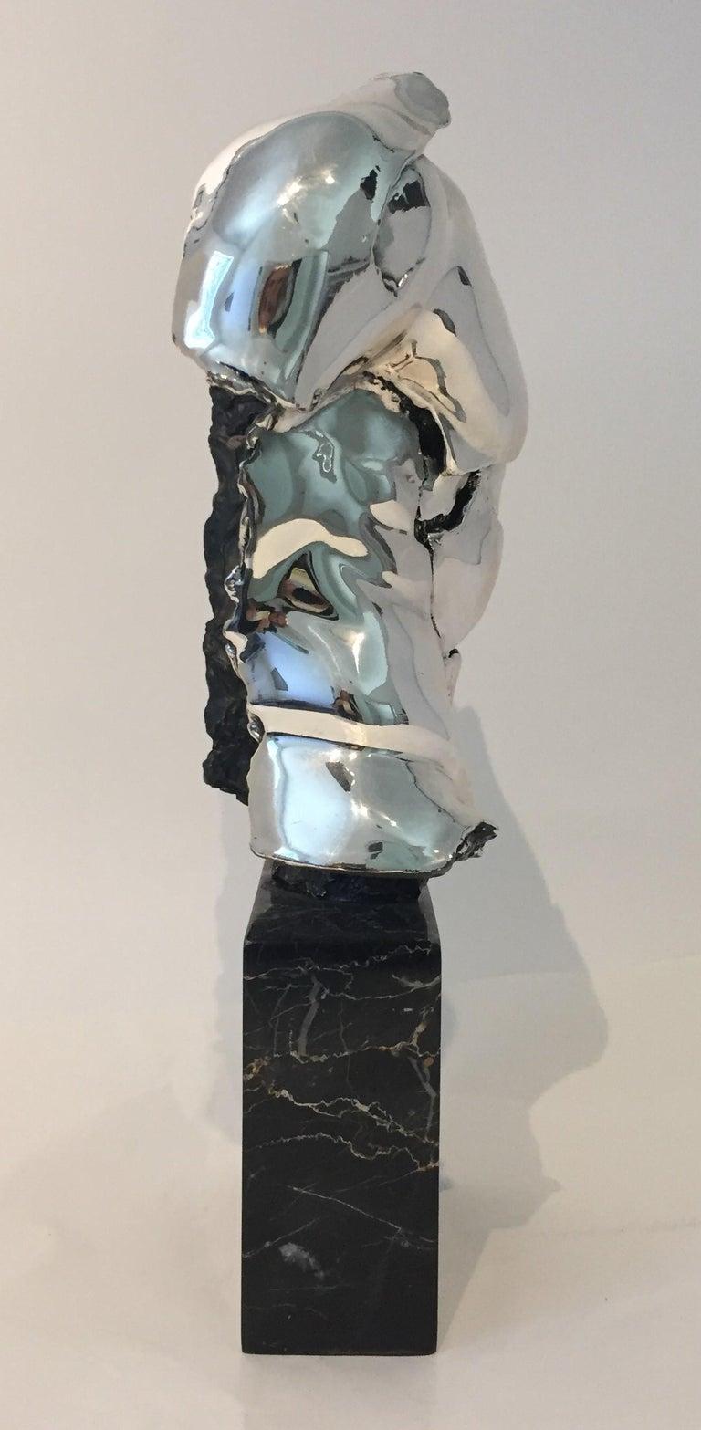 Modern Male Torso Sculpture For Sale