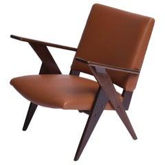 Zanine Caldas Midcentury Brazilian armchair, 1954