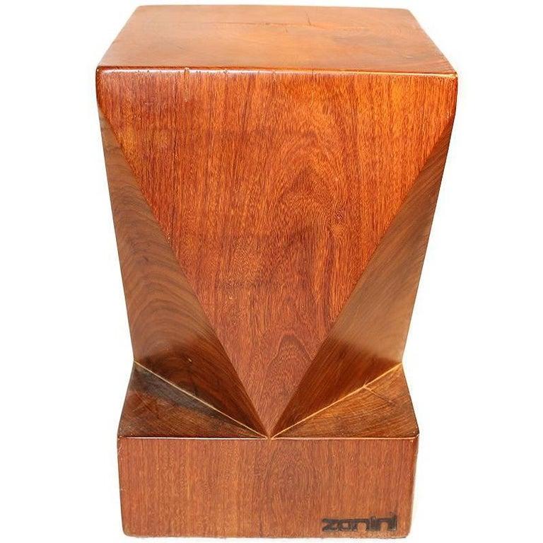 Zanini De Zanine Reclaimed Brazilian Hardwood Stool