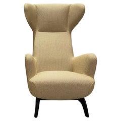 Zanotta Ardea CM Lounge Armchair Homage to Carlo Mollino