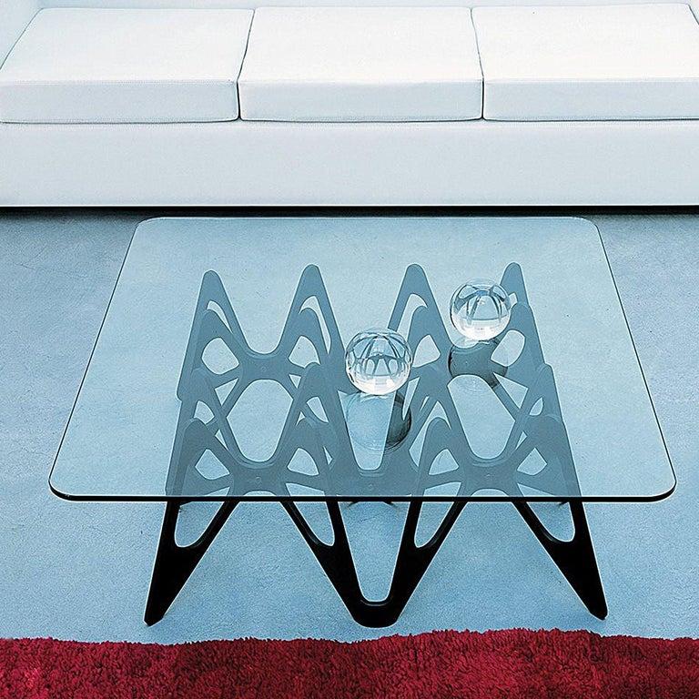 Modern Zanotta Butterfly Coffee Table For Sale