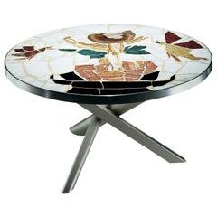 Zanotta Edizioni Pompei Occasional Table by Alik Cavaliere
