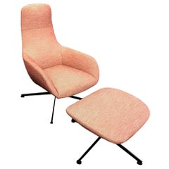 Zanotta Kent Lounge Armchair Designed by Ludovica and Roberto Palomba