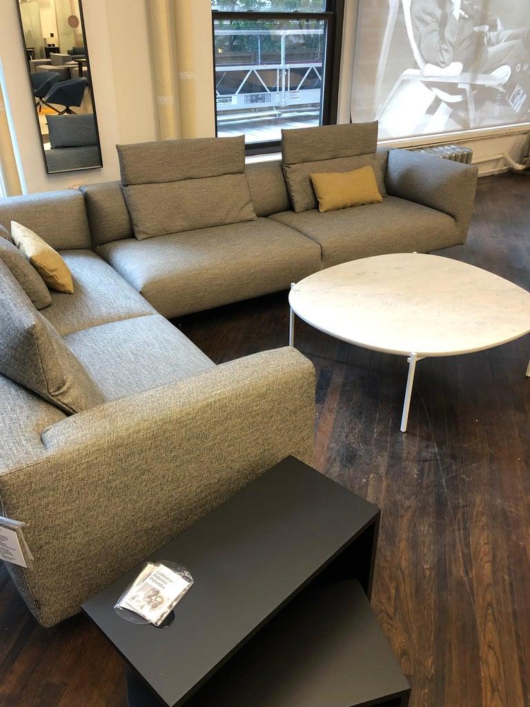 Zanotta Kim Sectional Sofa Designed by Ludovica & Roberto Palomba For Sale 9