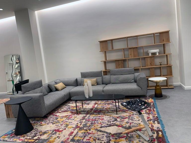 Italian Zanotta Kim Sectional Sofa Designed by Ludovica & Roberto Palomba For Sale