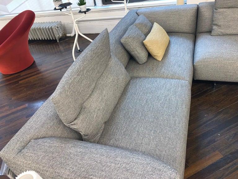 Zanotta Kim Sectional Sofa Designed by Ludovica & Roberto Palomba For Sale 2