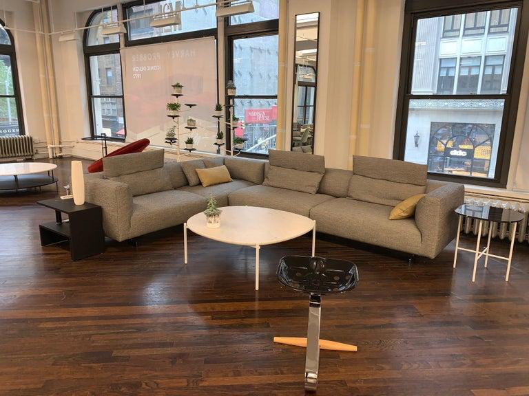Zanotta Kim Sectional Sofa Designed by Ludovica & Roberto Palomba For Sale 3