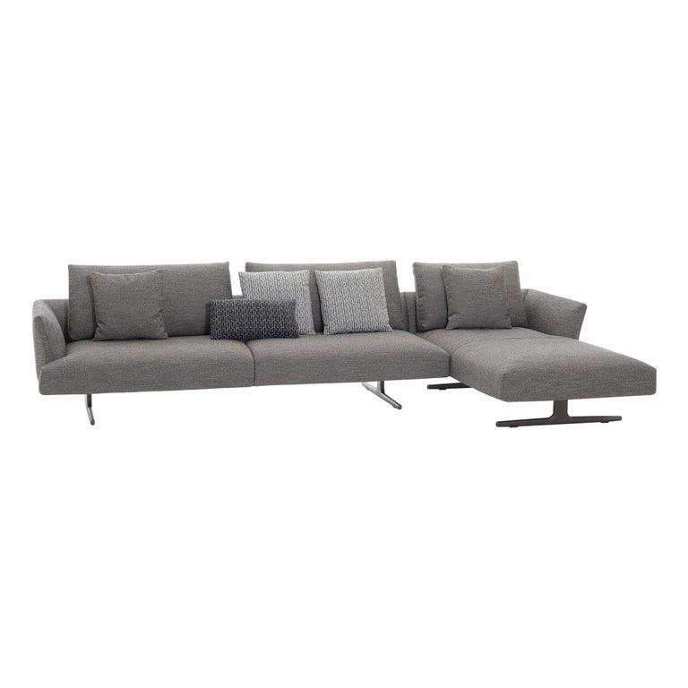 Zanotta Kim Sectional Sofa Designed by Ludovica & Roberto Palomba For Sale