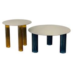 Zanotta Set of Two Echino Tables by Sebastian Herkner
