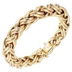 Zantow Ferguson Yellow Gold Woven Bracelet