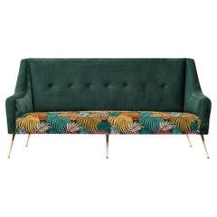 Zanuso Style Midcentury Sofa