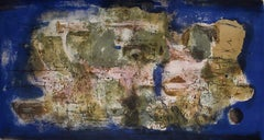 Engulfed Town  Ville engloutie - Chinese Art Abstract French