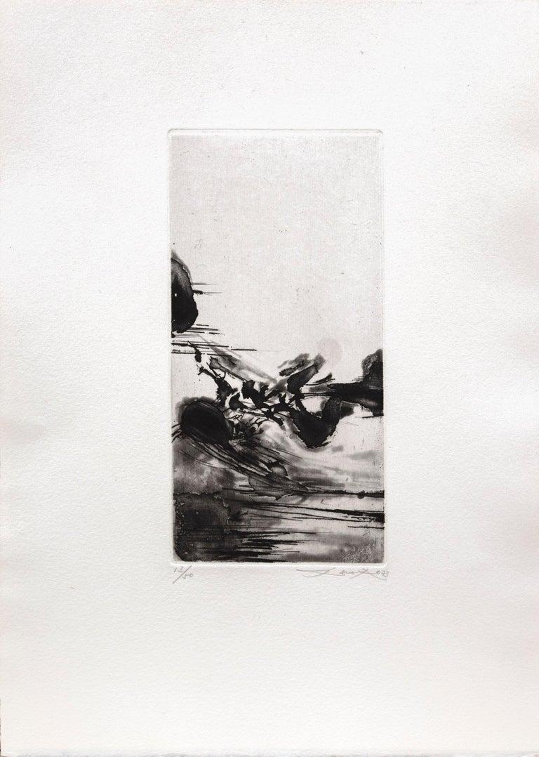 Une migration - Print by Zao Wou-Ki