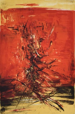 Untitled 159 - Chinese Art, Abstract French