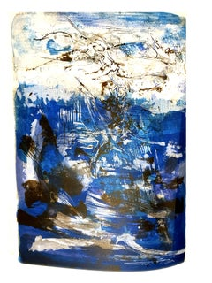 Zao Wou-ki - Original Lithograph - Abstract Composition