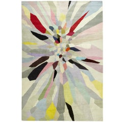 Zap Hand-Knotted 10x8 Rug in Wool by Fiona Curran