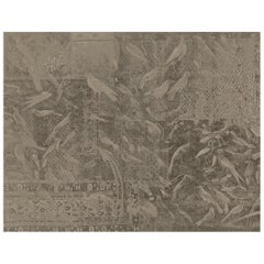 Zarabia -  custom mural wallpaper (color deep beige)