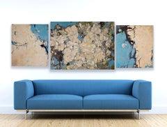 Triptych Magnolia 80x70, 90x120, 80x70