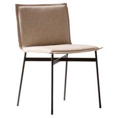 Zazu Beige Chair by Angeletti Ruzza