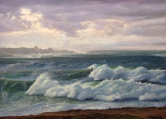 After Storm Seascape Oil Painting