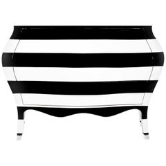Zebra Chest of Drawers by Carlo Rampazzi