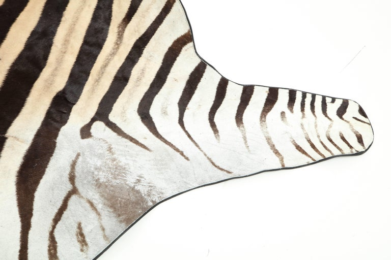 Contemporary Zebra Rug For Sale