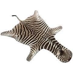 Zebra Rug Hide