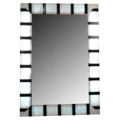 Zebra Striped Onyx Mirror