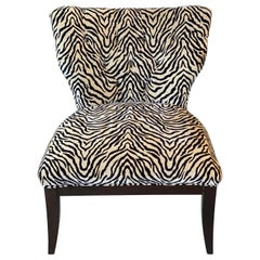 Zebra Wing Chair
