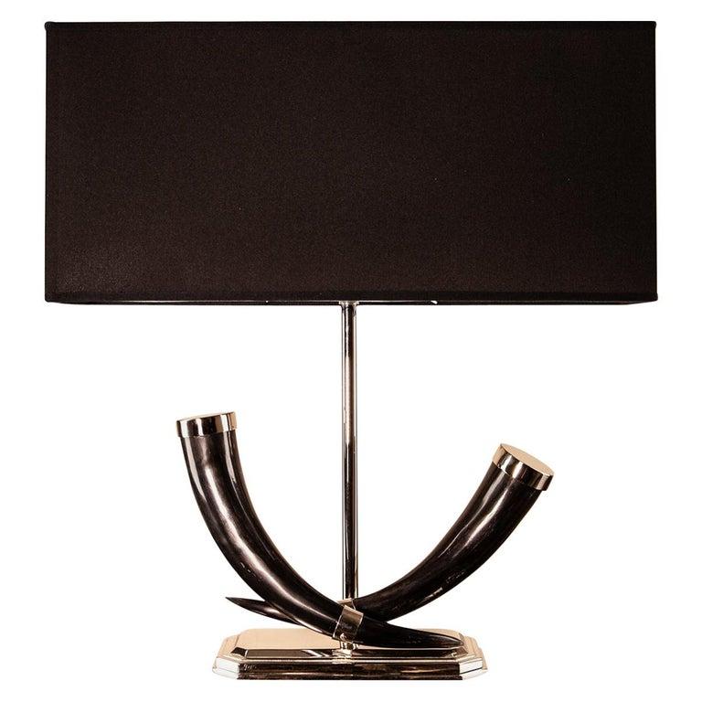 Zebu 2 Table Lamp For Sale