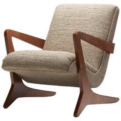 """""""Zeca"""" Armchair by José Zanine Caldas, Brazil, 1960s"""