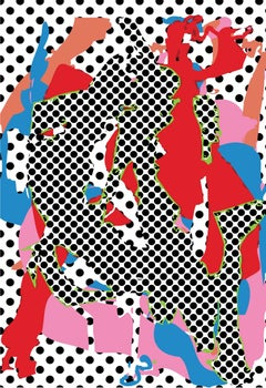 Zeke Williams, Noby Noby 47 Aglaja, unframed signed and numbered digital print