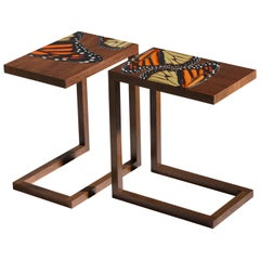 "Zelouf + Bell, ""Monarch"", Side Tables, Ireland, 2020"