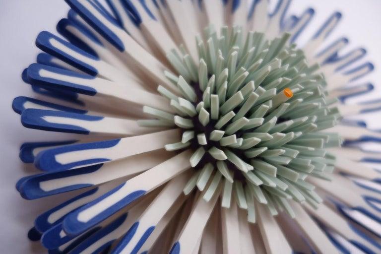 Shard Flower 2 - Contemporary Sculpture by Zemer Peled