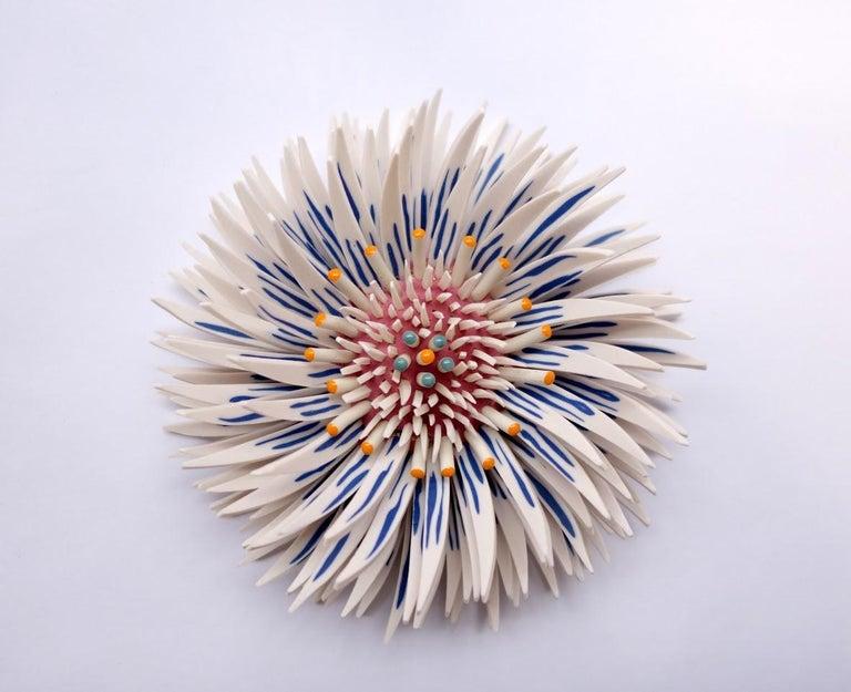 Zemer Peled Abstract Sculpture - Shard Flowers 1