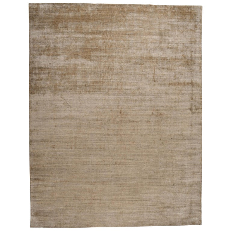 Zen Collection Rug In Gold For Sale At 1stdibs