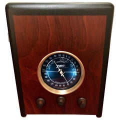 Zenith 5s237 Art Deco Restored Tube Radio Bluetooth