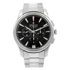 Zenith Captain Chronograph Black Dial Steel Men's Watch 03.2110.400/21.M2110