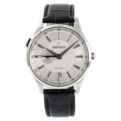 Zenith Captain Dual Time, Silver Dial Certified Authentic