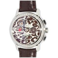 Zenith Chronomaster Star Open Love Limited Ladies Wristwatch with Diamonds