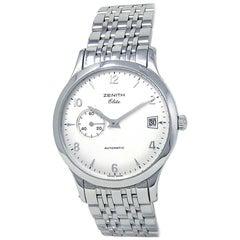 Zenith Class Elite Stainless Steel Automatic Men's Watch 02.1125.680/01