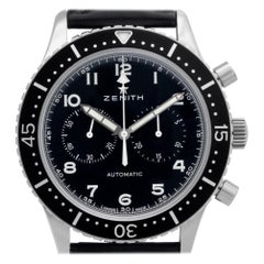 Zenith Cronometre 0442/1000, Black Dial, Certified and Warranty