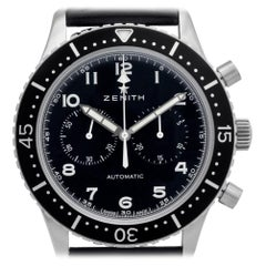 Zenith Cronometre 0442/1000, Case, Certified and Warranty