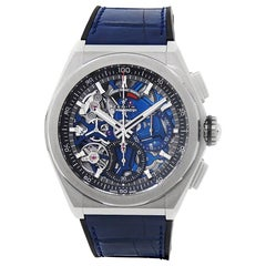Zenith Defy Classic 95.9002.9004/78.r584, Blue Dial, Certified &