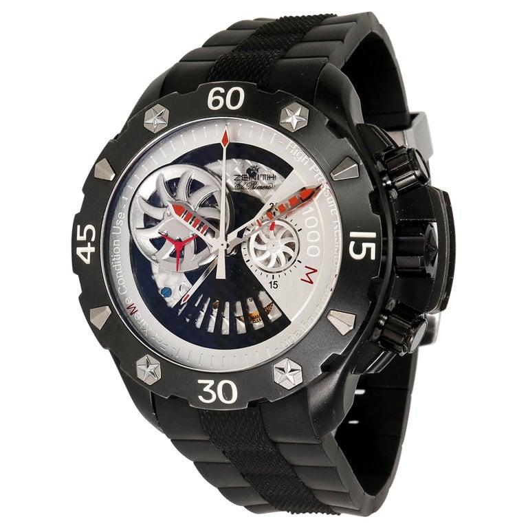 Zenith Defy Extreme 96.0525.4021/21.R642 Men's Watch in Titanium For Sale