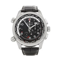 Zenith Doublematic Chronograph Stainless Steel 03.2400.4046/21.C721